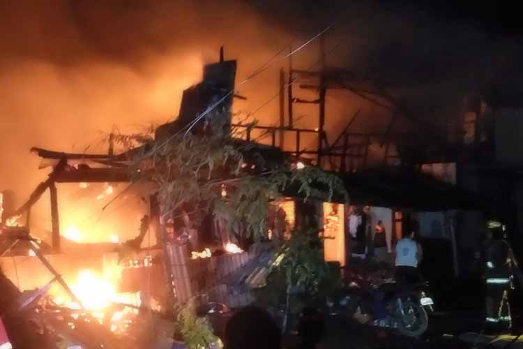 New Year's Eve fire razes 50 houses in Davao