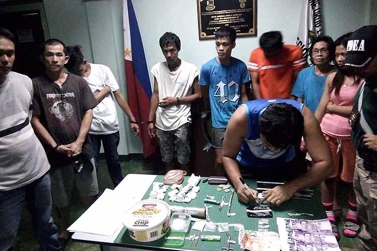 Anti-drug ops net 10, P75K drugs in Zamboanga