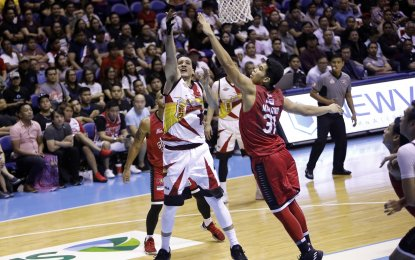 Ginebra defeats SMB to narrow semis gap