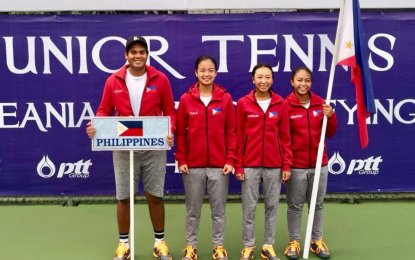 PH netters reach World Juniors Championships quarterfinals