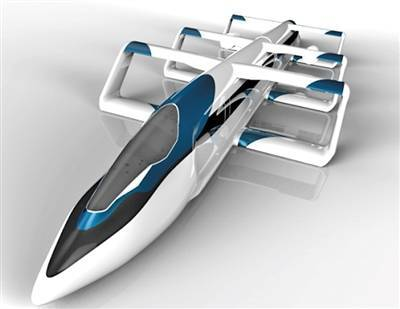 China, Japan develop aerotrain running 400-500 km/hour