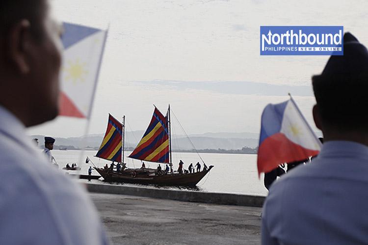 IN PHOTOS: Ancient Balangay Boat Arrives in La Union