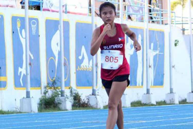 Run Rio-UP Team's Halagueña rules girls 5,000 meters walk
