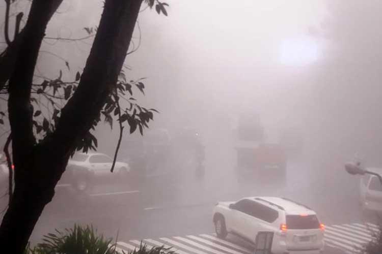 Baguio records lowest temperature at 10.4 degrees Celsius