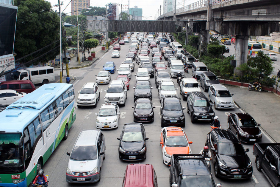 PRRD has plan 'up his sleeves' to ease Cubao-Makati traffic