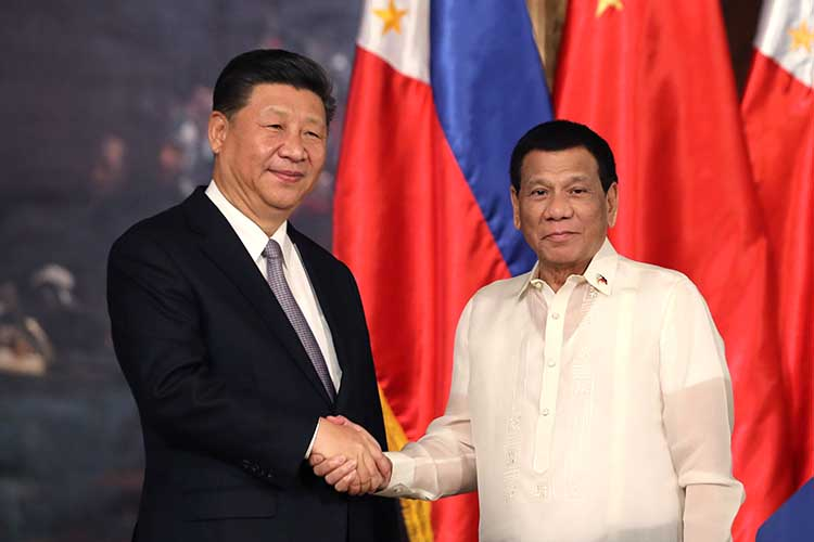 Palace assures review of any joint oil exploration with China