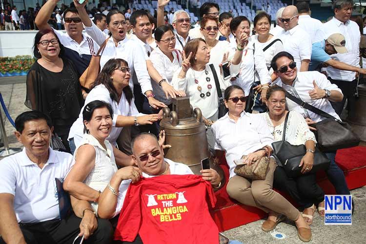Balangiga bells back in Eastern Samar