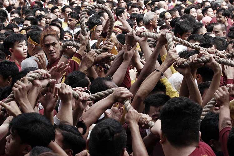 Black Nazarene procession reaches Concepcion Aguila