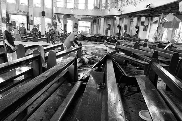 Death toll in Jolo church bombing rises to 17