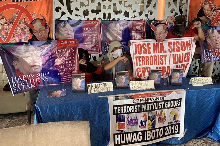 'Terrorist' Joma has no place in academe: ex-rebels
