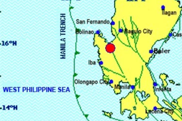 Magnitude 5.5 earthquake jolts Pangasinan