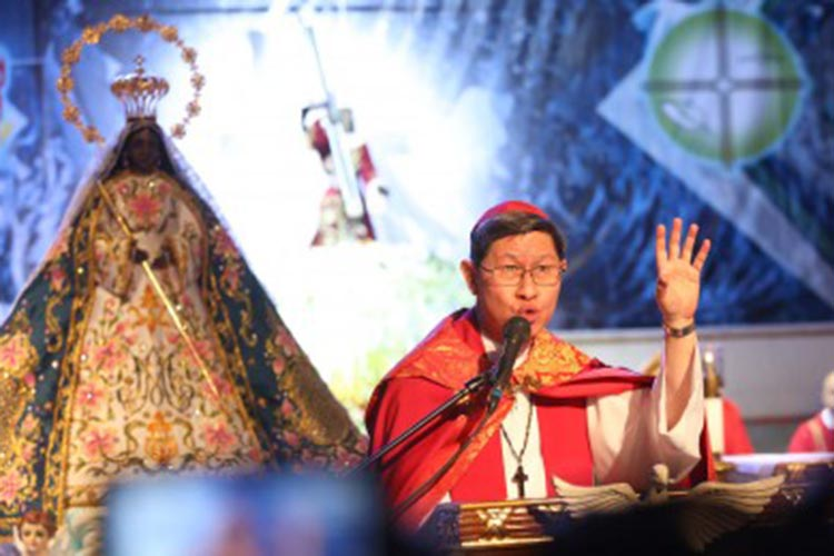 Tagle's Easter message: Light will overcome darkness
