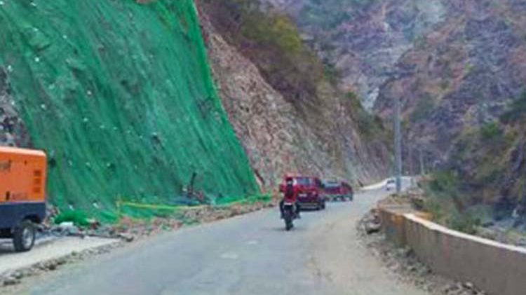 Kennon Road, 5 other Luzon roads closed due to 'Falcon'