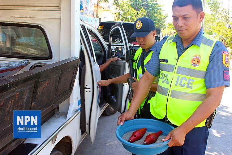 2 mortar bombs found in La Union