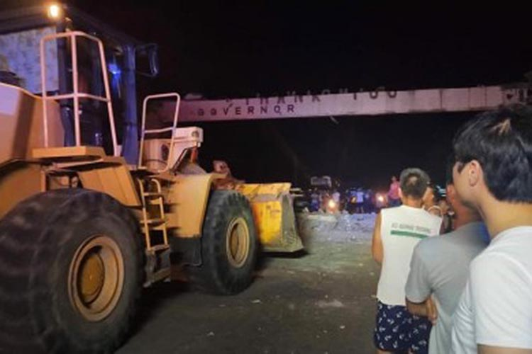 Magnitude 6.1 quake causes road, infra damage in Pampanga