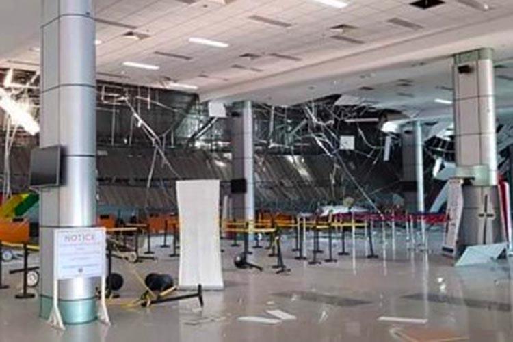 7 hurt as quake damages Clark airport; flight operations suspended