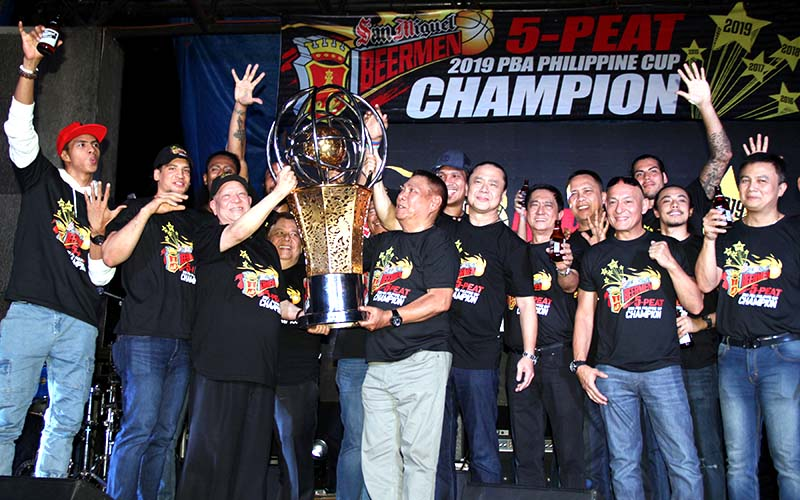 San Miguel wants back-to-back championships in PBA