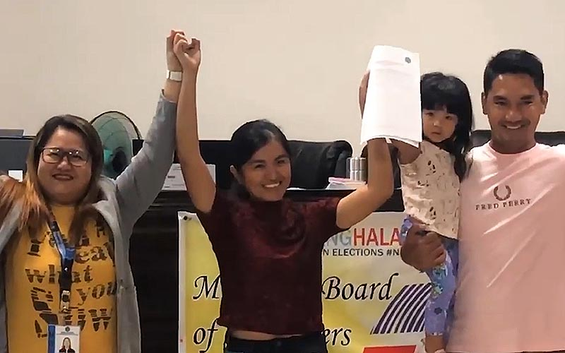 Ilocos Norte town elects first woman mayor