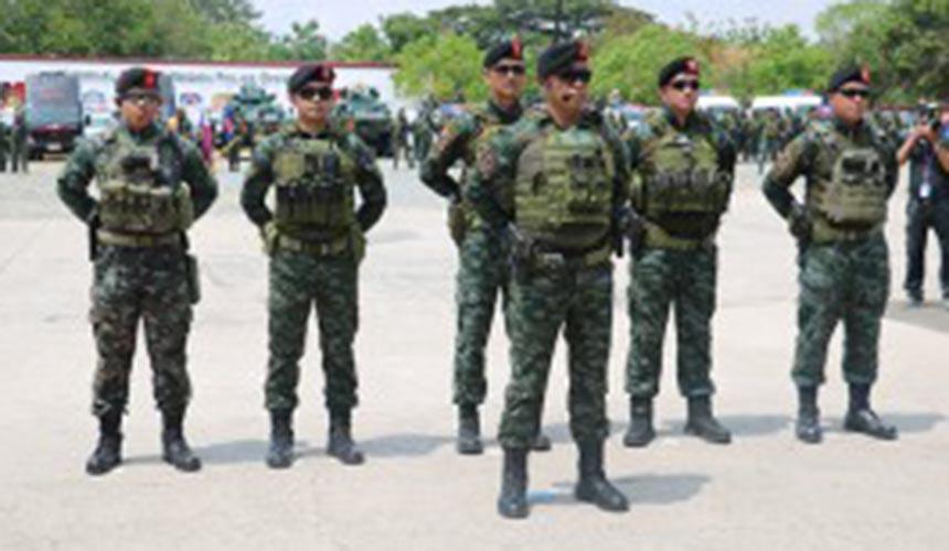 SAF prepared to go after drug lords