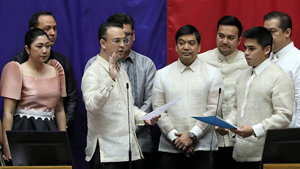 House formally elects Cayetano as Speaker