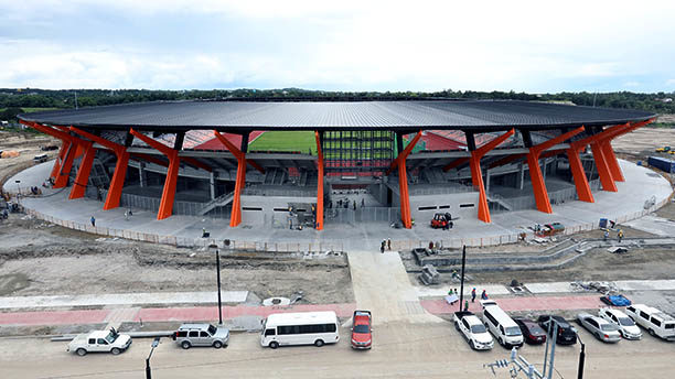 IN PHOTOS: WORLD CLASS ATHLETIC STADIUM ALMOST READY