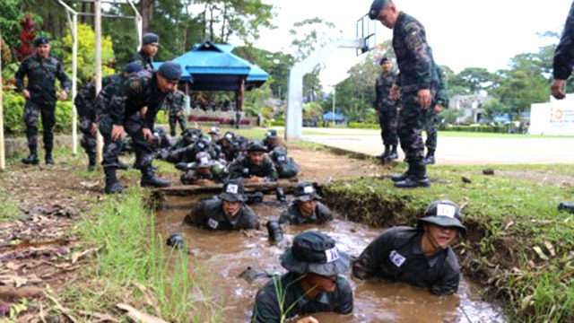 Cordillera cops start counter-insurgency training