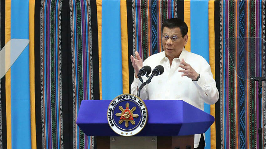 PRRD vows corruption-free entry of 3rd telco