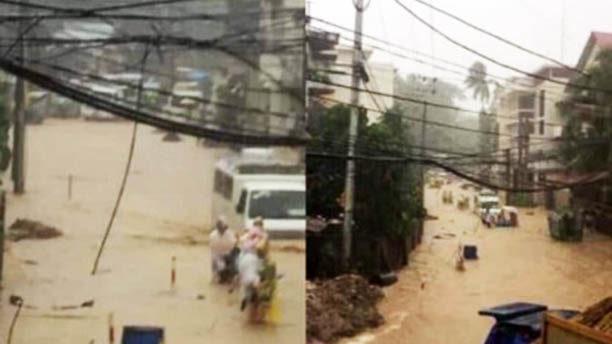 Heavy rains, unfinished drainage trigger Boracay flooding