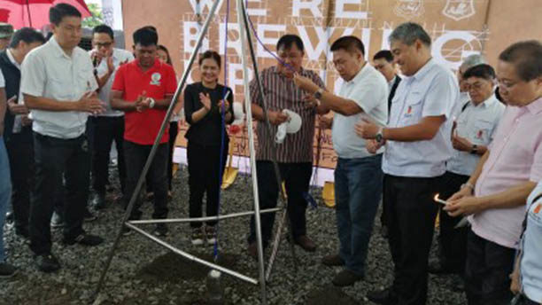 San Miguel breaks ground for new brewery in Pangasinan