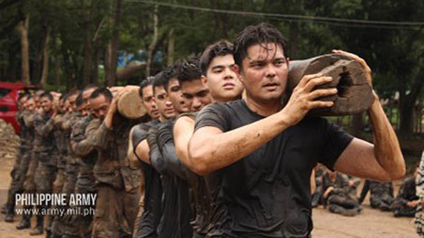 PA Special Forces train 'Descendants of the Sun' actors