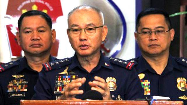 Albayalde leaving fate to PRRD, won't resign as top cop