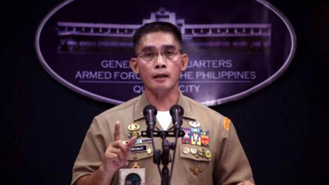 AFP says Northern Luzon 'terror plot' negative so far