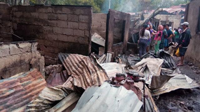 Kidapawan fire destroys 24 houses