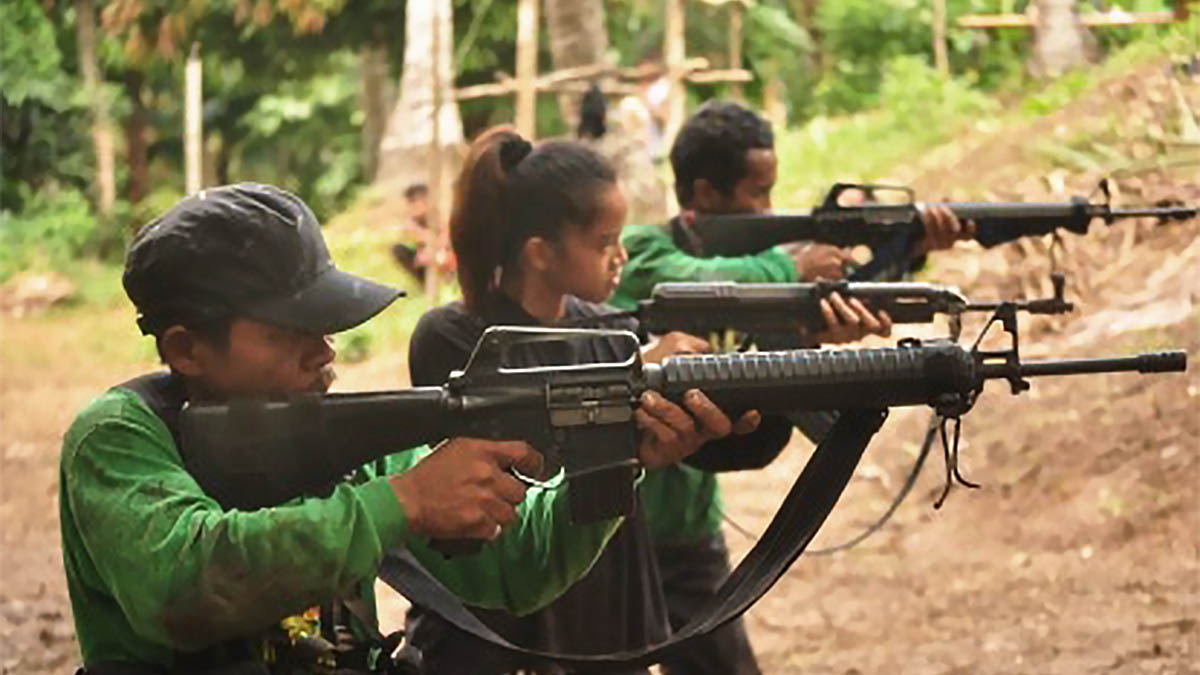 Military denies coercion claims on surrendered NPA 'amazon'
