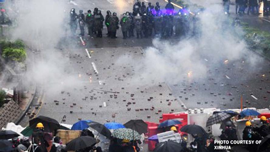 Violent protests in Hong Kong hit economy hard