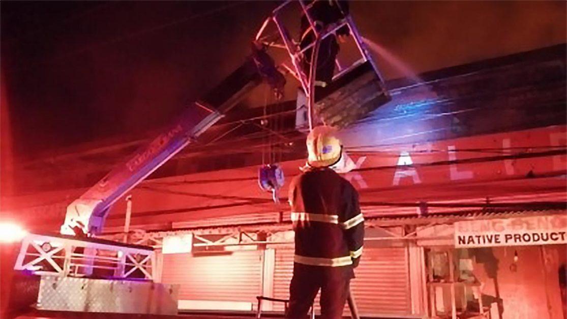 Kalibo seeks senators' help to rehab burned public market