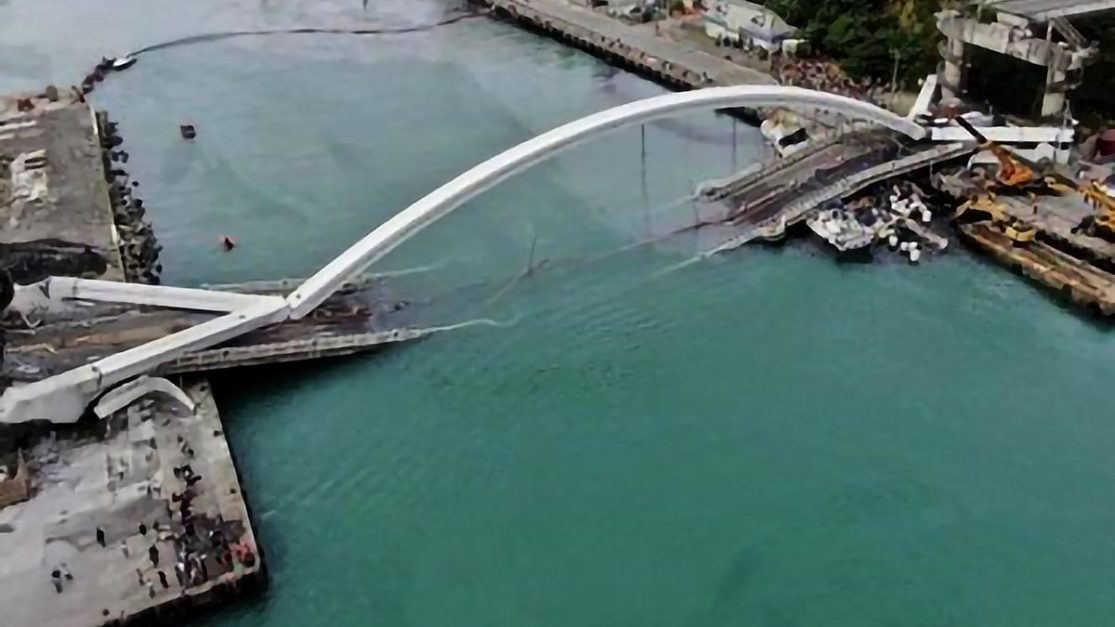 Body of missing OFW in Taiwan bridge collapse found