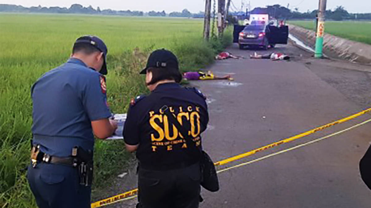 4 suspected carnappers killed in Bulacan 'shootout'