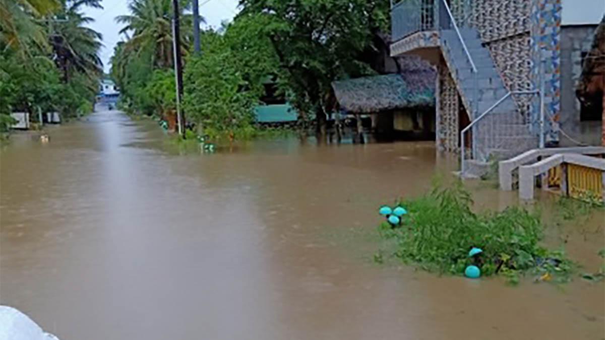 Landslides, flash flood hit Pagudpud town due to bad weather