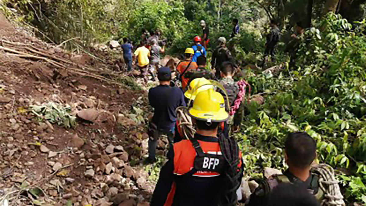 Retrieval ops for 2 bodies in Davao del Sur stopped