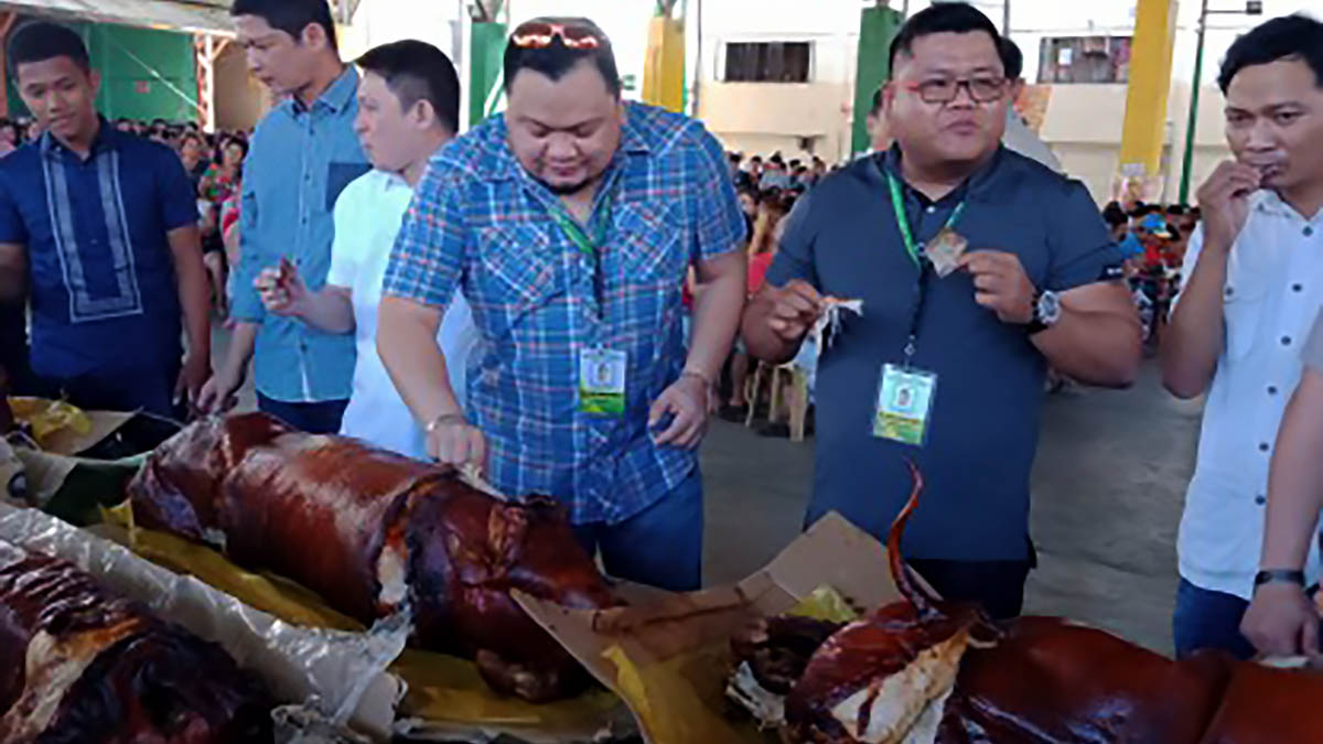 P'sinan city residents feast on pork dishes to allay ASF scare