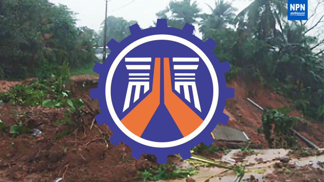Clearing ops in Tisoy-damaged roads ongoing: DPWH