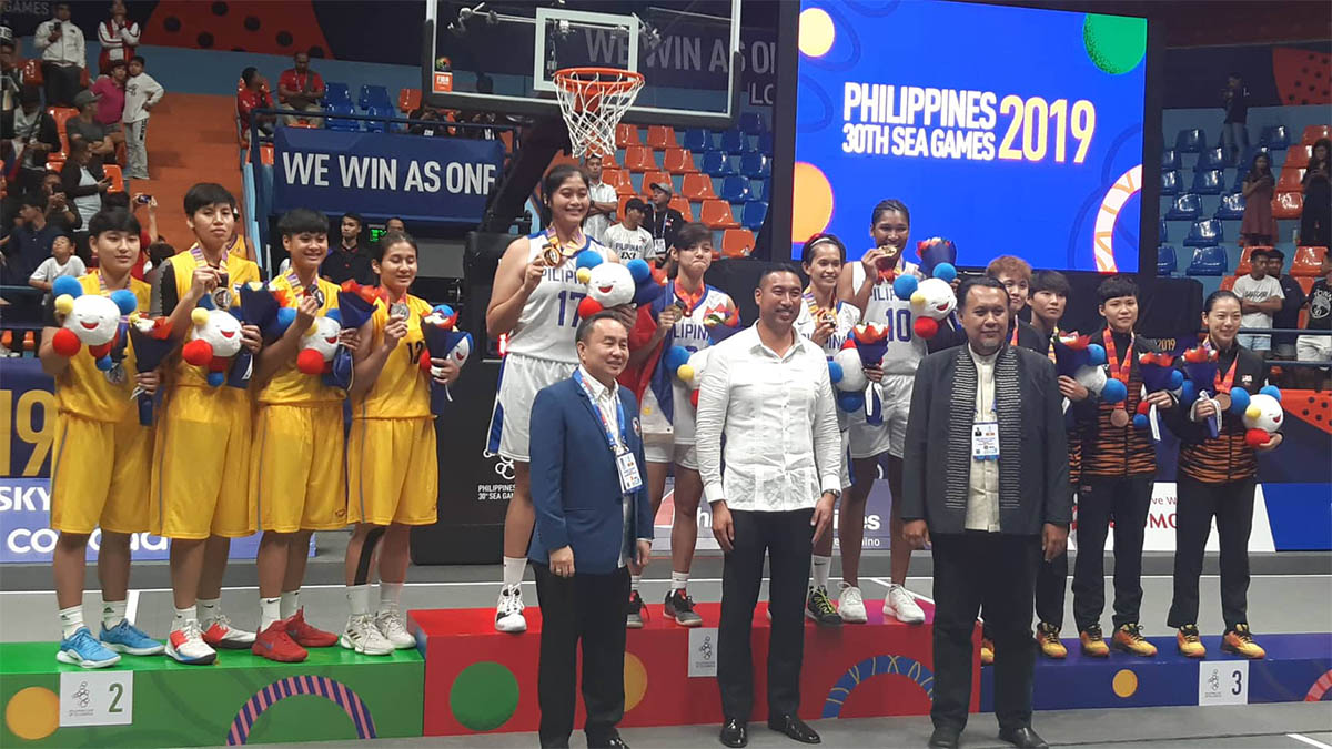 PH sweeps SEA Games 3×3 golds