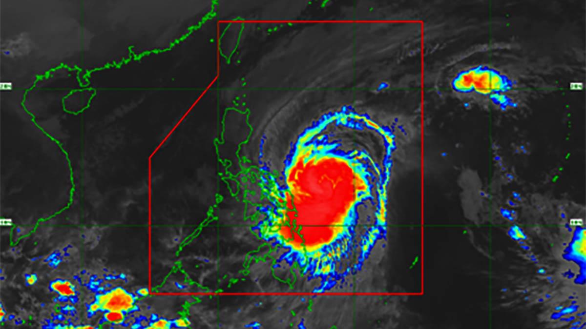 'Tisoy' barreling towards Bicol; Catanduanes under Signal No. 3