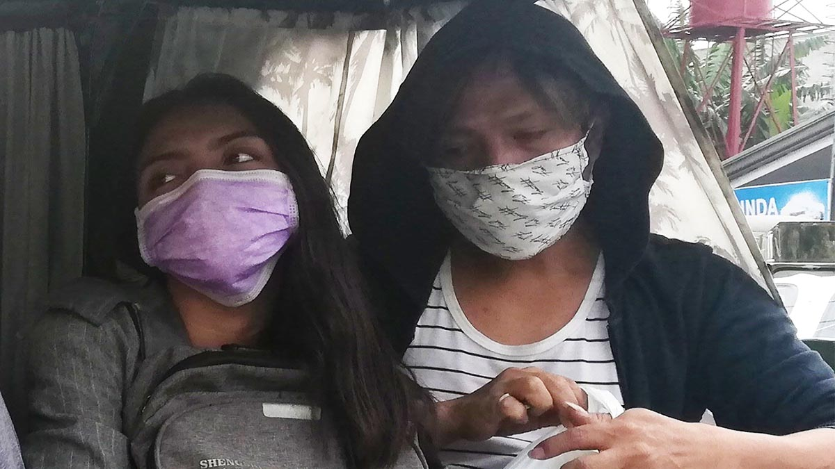 DOH reminds public anew to wear dust masks vs. Taal ashfall