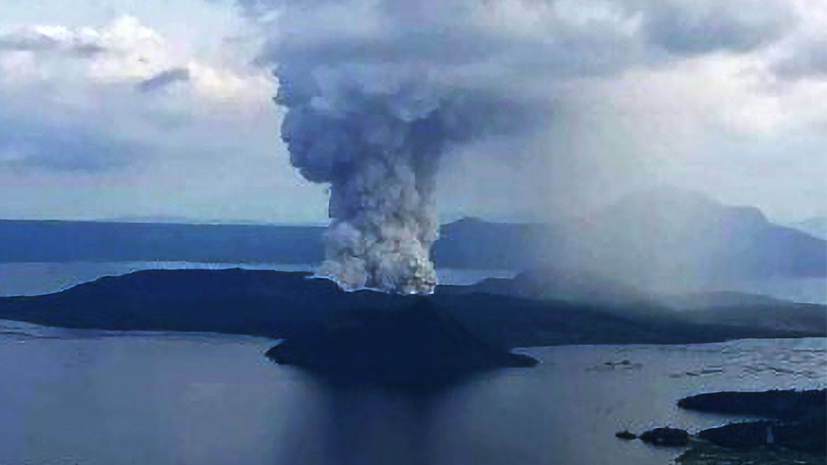 Phivolcs raises Alert Level 4 on Taal Volcano
