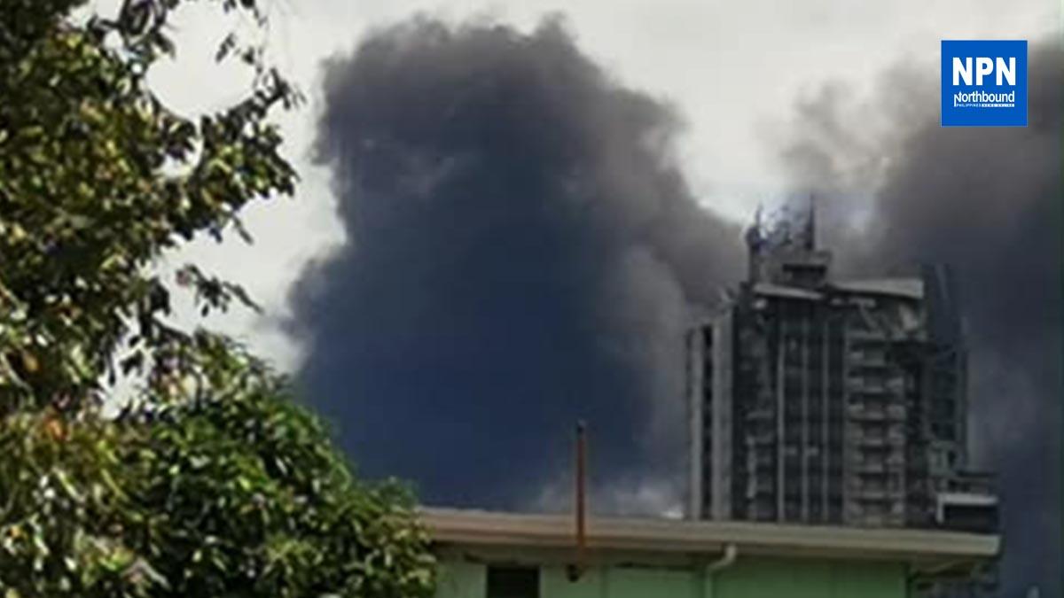 Fire in Pandacan Manila