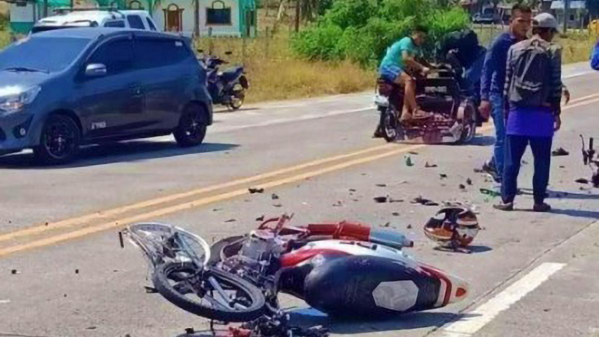 2 dead, 1 hurt in Maguindanao motorcycle collision