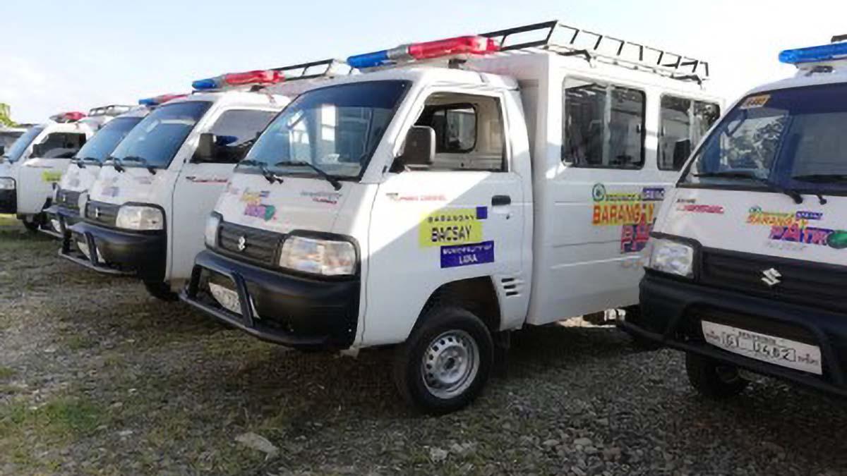 Apayao barangays get 57 patrol vehicles