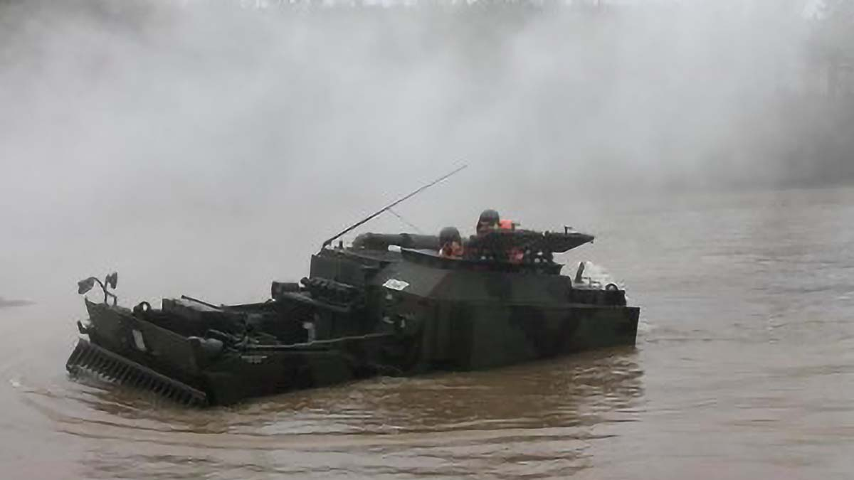 AFP to acquire amphibious combat earthmover from Turkey